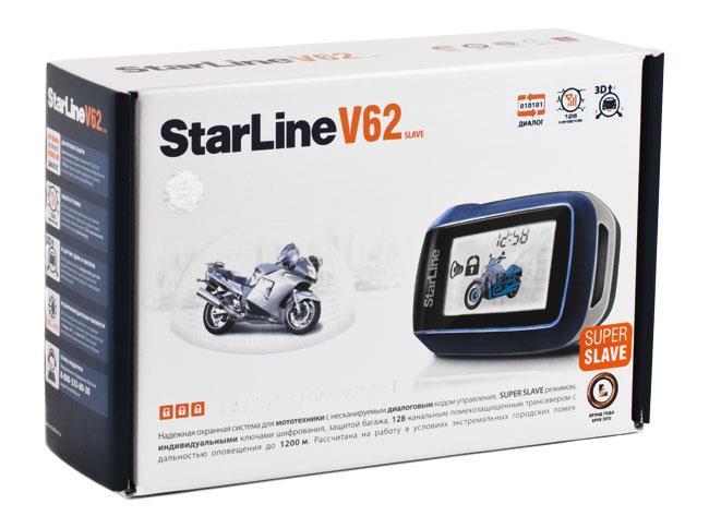 StarLine V62 Moto