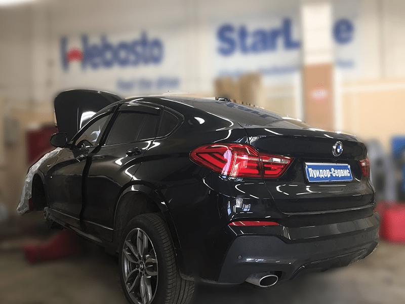 Установка Webasto Comfort с GSM модулем управления на BMW x6 f16