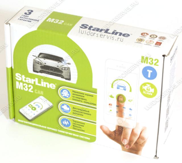 Фотография продукта StarLine M32 CAN