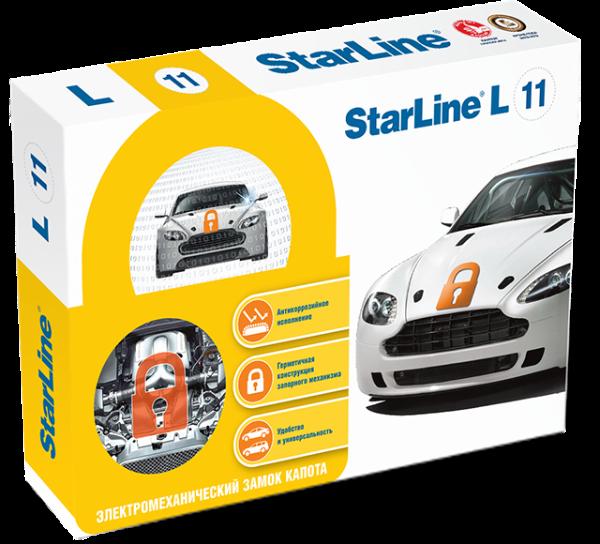 Фотография продукта StarLine L11 замок капота (электромеханический)