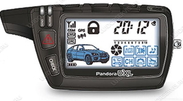 Фотография продукта Брелок LCD Pandora D5000