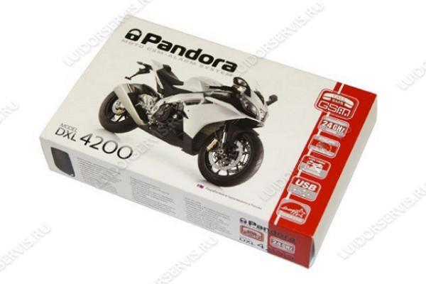 Фотография продукта Pandora DXL4200 Moto