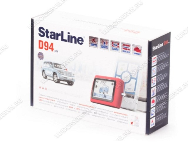 StarLine D94 2CAN GSM/GPS