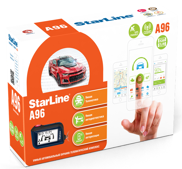 Фотография продукта StarLine A96 2CAN+2LIN GSM/GPS