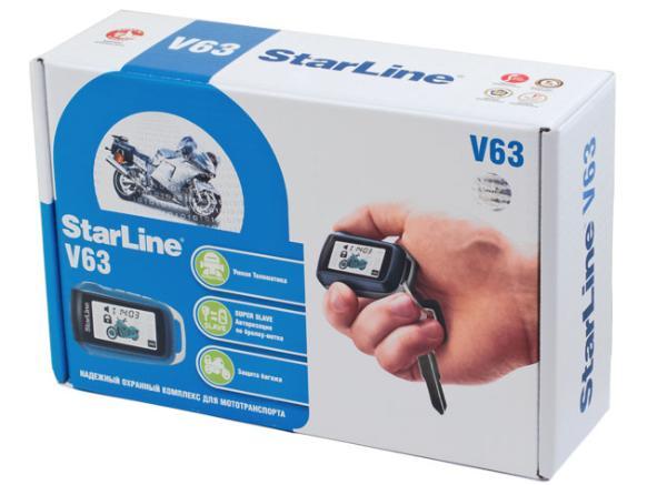 Фотография продукта Мотосигнализация StarLine V63