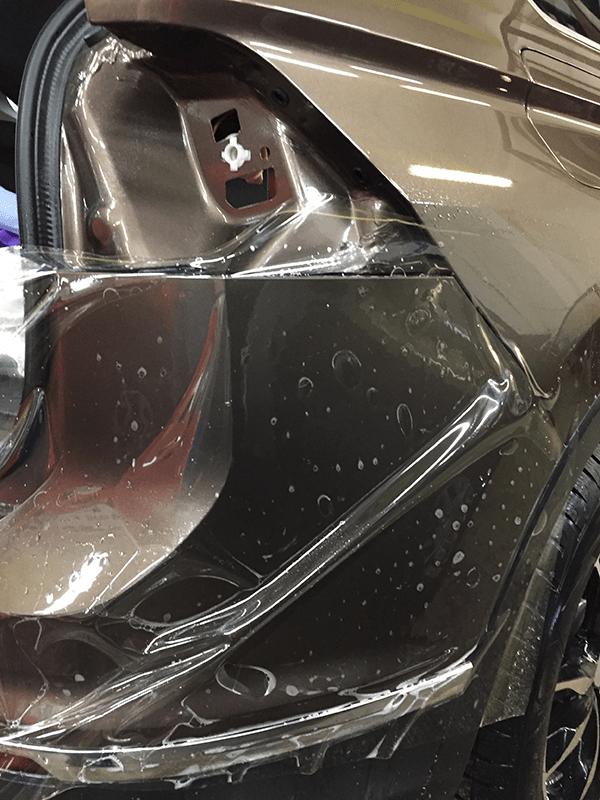 Оклейка кузова VW Tiguan полеуретаном