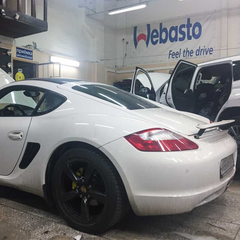 Porshe cayman webasto thermo top comfort